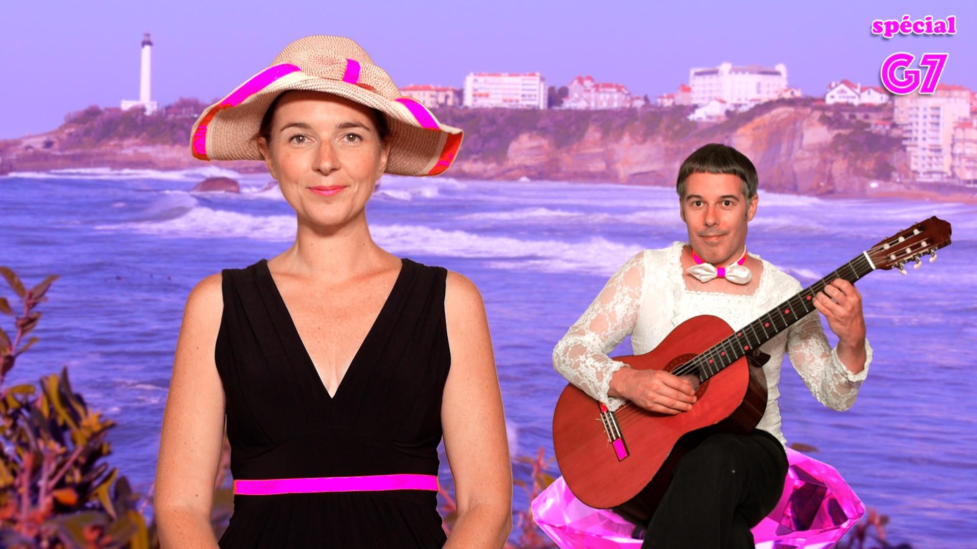 « Dissolution du G7 » - Le tube de l'été pour danser à Biarritz
