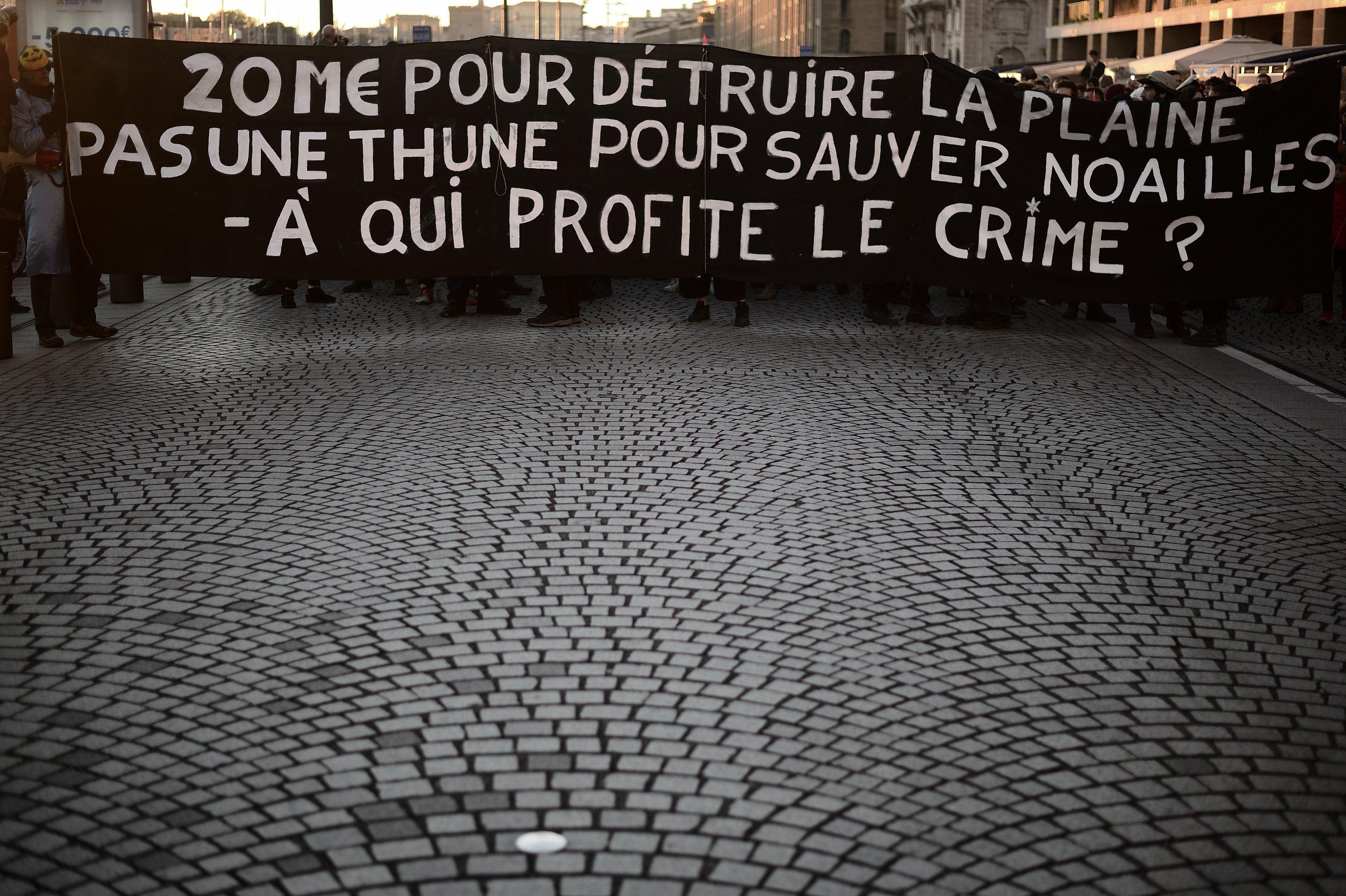 Marseille : un an après l'effondrement des immeubles rue d'Aubagne