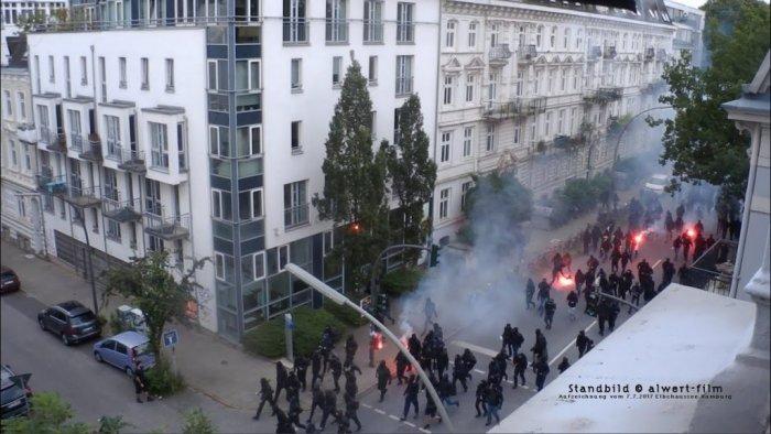 Arrêté après les émeutes de Hambourg, Loïc Citation est depuis un an en procès en Allemagne.
