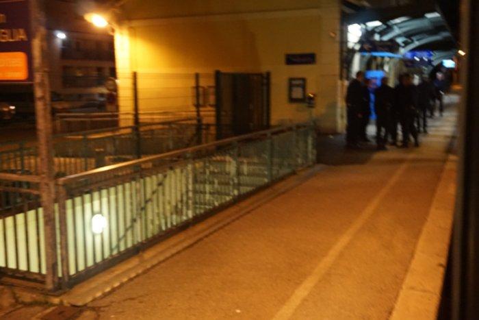 Arrestation en gare de Menton-Garavan
